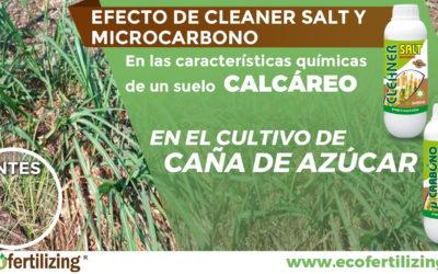 EFECTO DE CLEANER SALT® Y MICROCARBONO ® EN LAS CARACTERÍSTICAS QUÍMICAS DE UN SUELO CALCÁREO EN EL CULTIVO DE CAÑA DE AZÚCAR