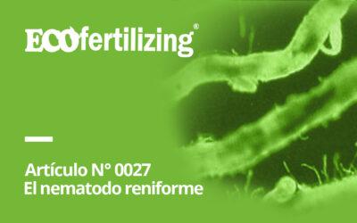 N° 0027: El nematodo reniforme Rotyulenchulus sp